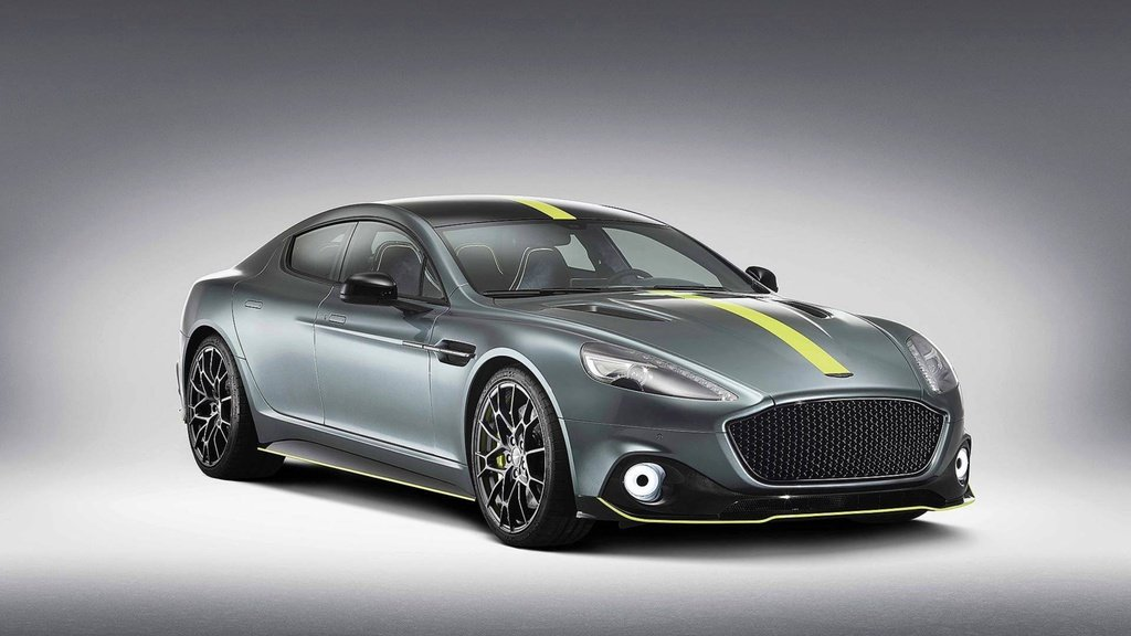 Aston Martin Rapide AMR has 580 horsepower and some carbon fiber body panels