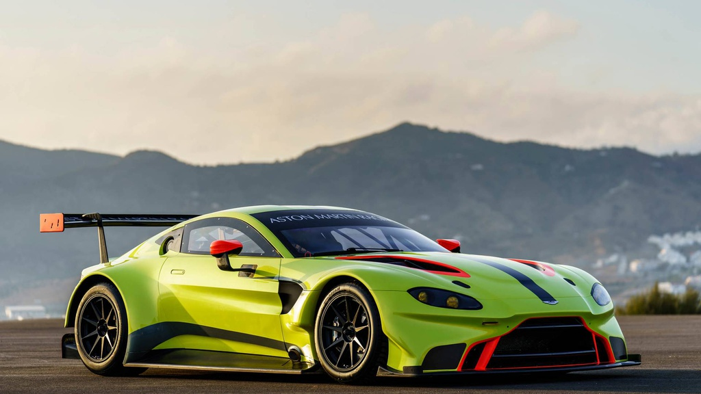 Aston Martin Vantage GTE will be seen in flesh and bones during the 24 Hours of Le Mans race