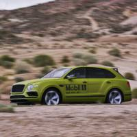 Bentley Bentayga heads for a world record at Pikes Peak