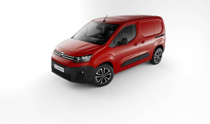 Citroen Berlingo Van launched in UK