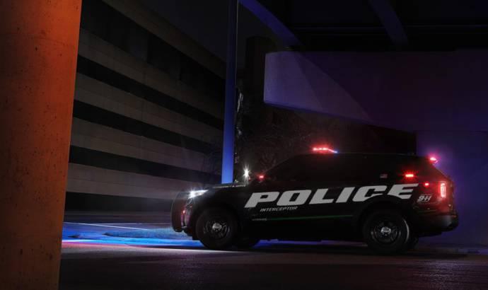 Ford Interceptor Utility Hybrid offered for US police