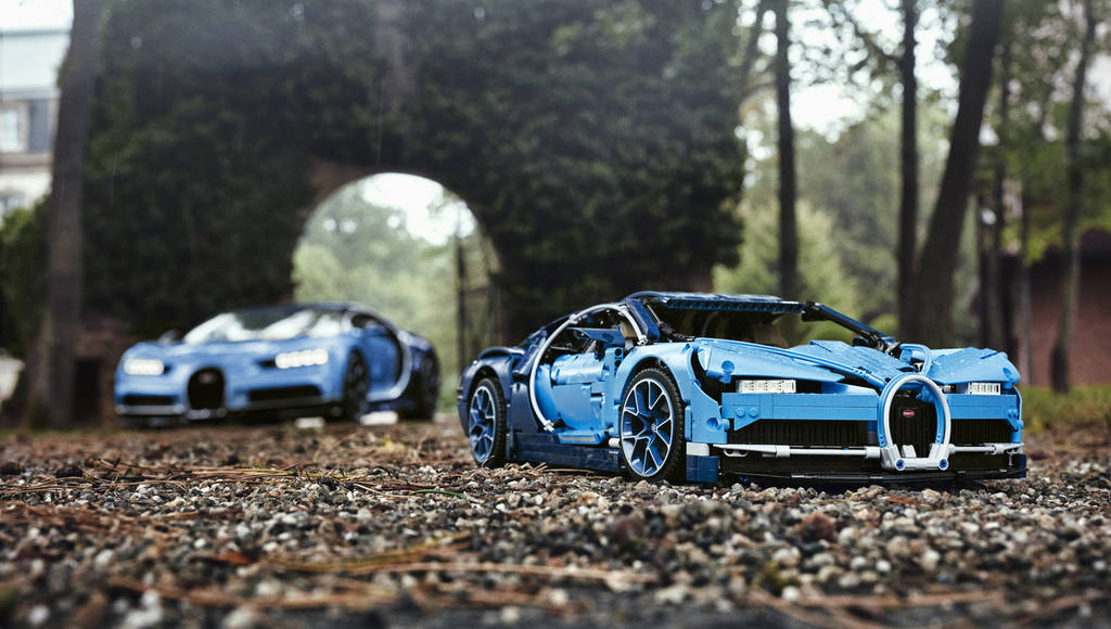 Lego Technic BUgatti Chiron is a real joy to the eye