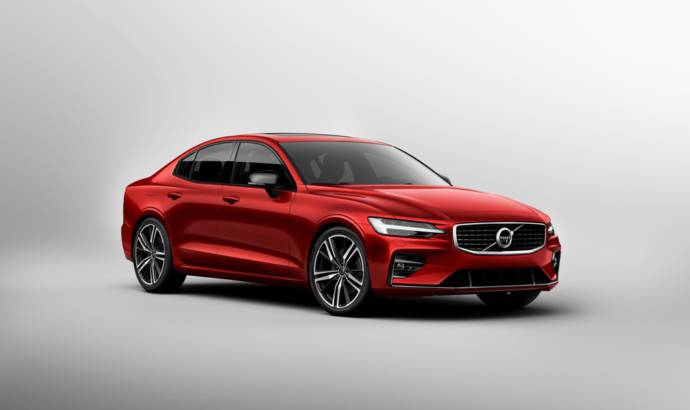 New Volvo S60 official details and photos
