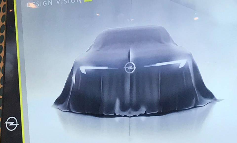 Opel GT Concept - first teaser picture