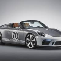 Porsche 911 Speedster celebrates 70 years of Porsche