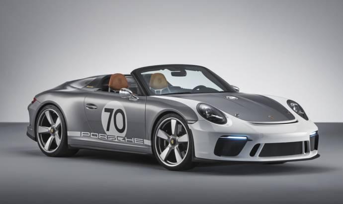 Porsche 911 Speedster celebrates 70 years of Porsche