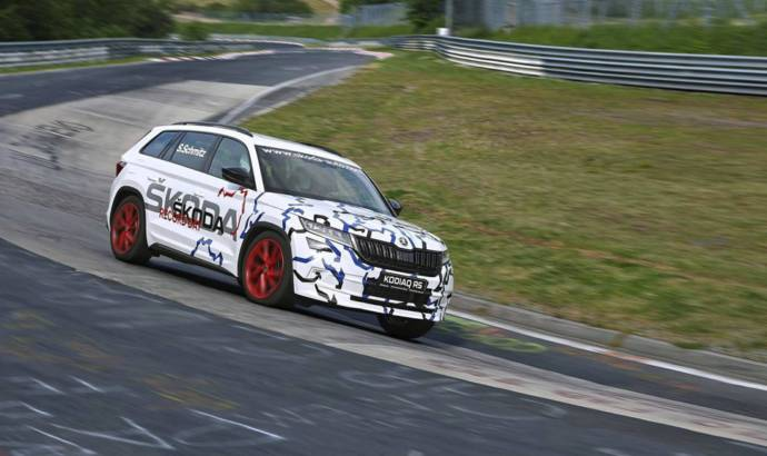 Skoda Kodiaq RS is the fastest 7-seat SUV around the Nurburgring