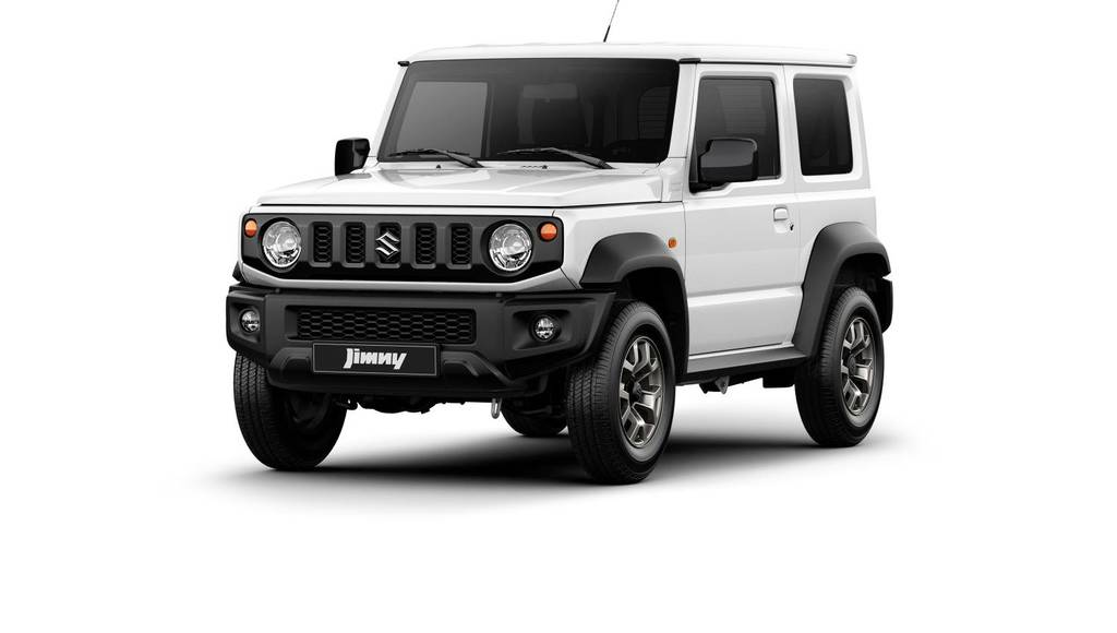 Suzuki Jimny first official images
