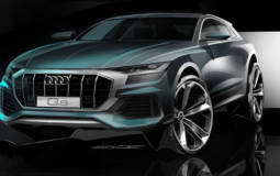 These are the first four episodes of the Audi Q8 Unleashed campaign - the SUV will be unveiled on June 5