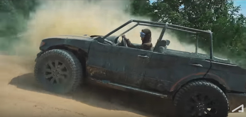 This old BMW X5 is the perfect machine for off-road - Video