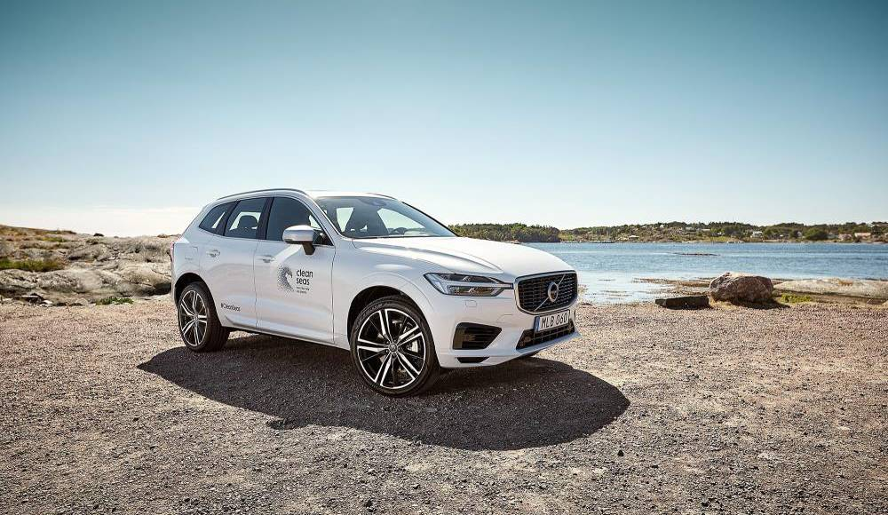 Volvo XC60 made completely from recycled plastics