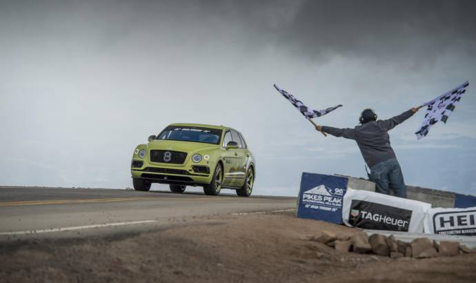 Bentley Bentayga sets new world record at Pikes Peak