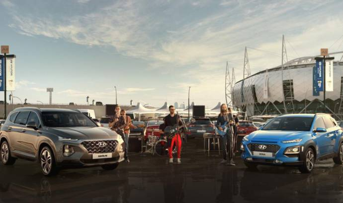 Hyundai and Maroon 5 created the anthem for 2018 Fifa World Cup Russia