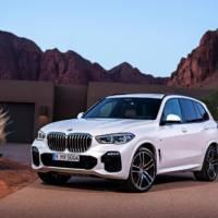 2019 BMW X5 starts at 75.750 USD