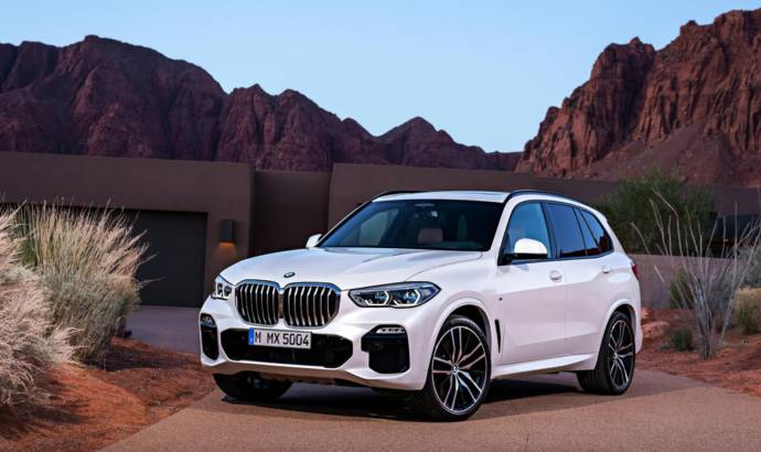 2019 BMW X5 starts at 75.750 USD