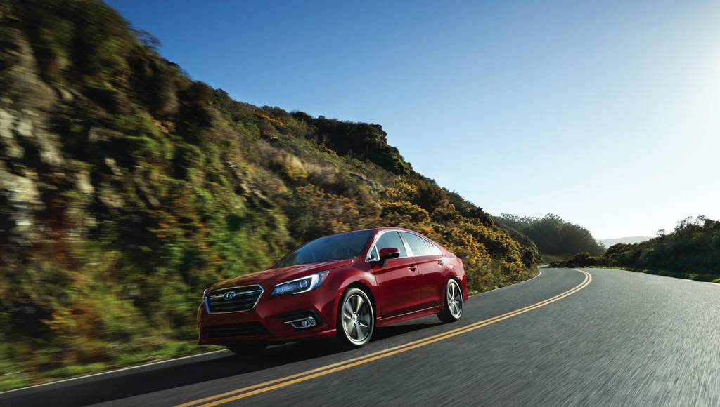 2019 Subaru Legacy available in the US