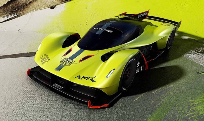 Aston Martin is looking for a Nurburgring all-time record with the Valkyrie AMR Pro