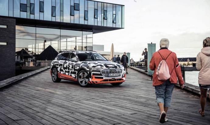 Audi E-tron will debut on September 17