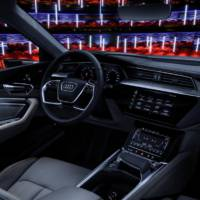 Audi e-tron prototype reveals interior