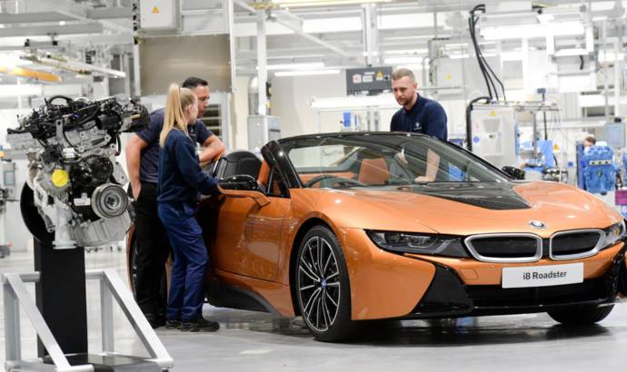 BMW engine plant ready for the new BMW i8 Roadster
