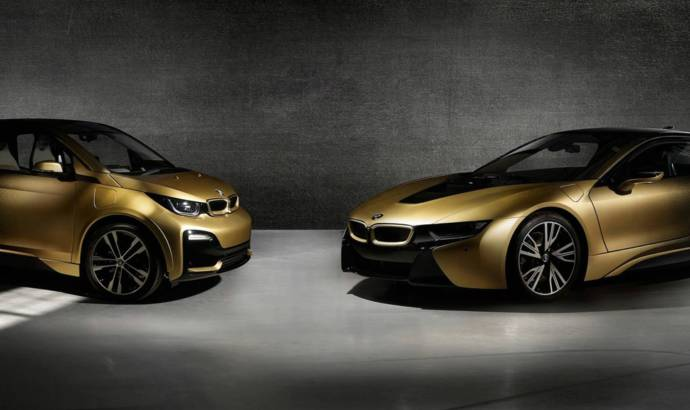 BMW is launching the i3 and i8 Starlight Edition - 24-Carat Gold Dust is a feature
