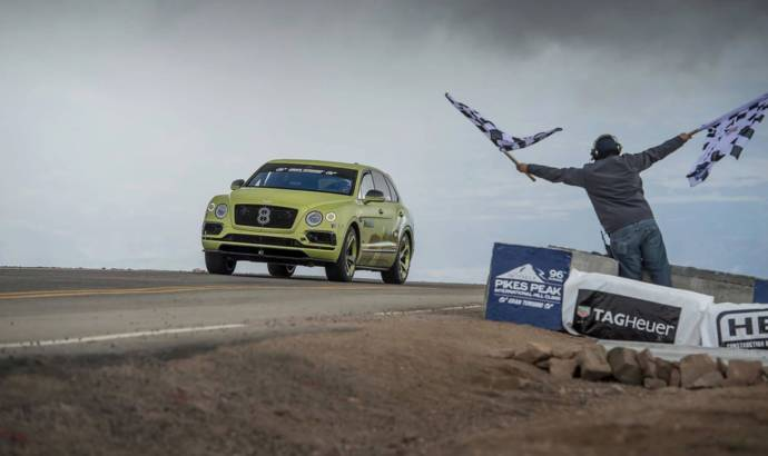 Bentley Bentayga Pikes Peak will be showcased at Goodwood