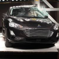 Ford Focus and Volvo XC40 managed to get five start safety rating