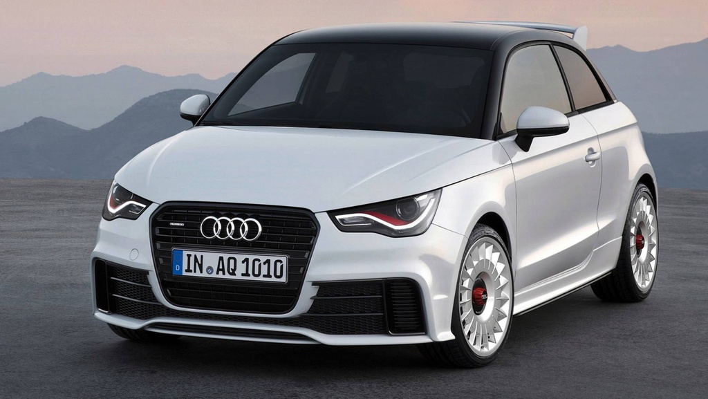 From 2019, Audi will apply the two-tone paint in one spraying process