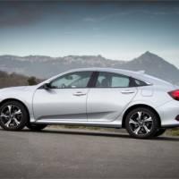 Honda Civic four door UK pricing announced