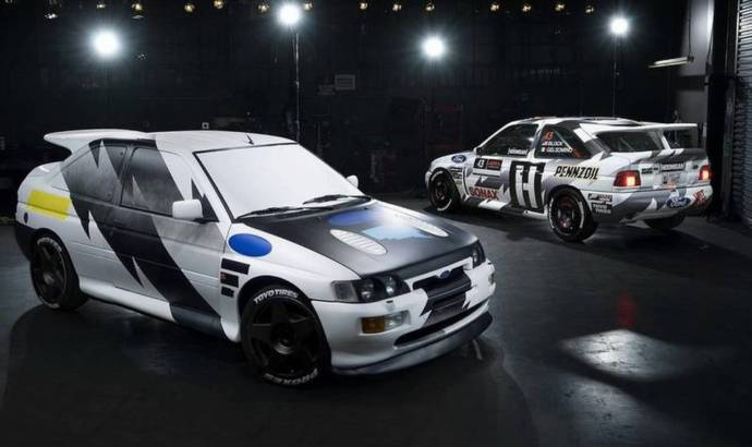 Ken Block's Ford Escort RS Cosworth distroyed by fire