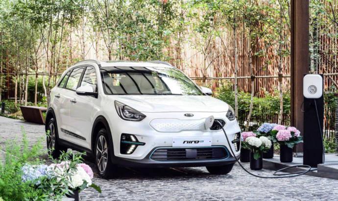 Kia Niro EV crossover available in South Korea