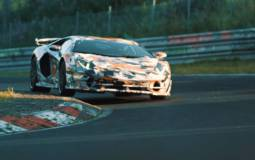 Lamborghini Aventador SVJ is the fastest production car around the Nurburgring
