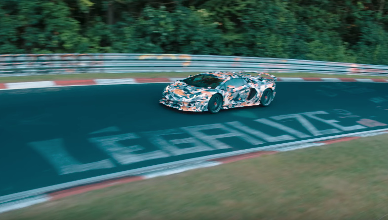 Lamborghini has a new teaser with the Avantador SVJ