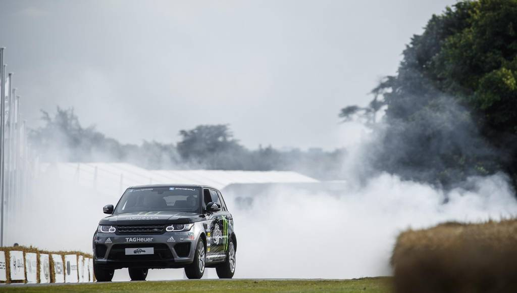 Land Rover celebrates its 70th anniversary at FOS Goodwood