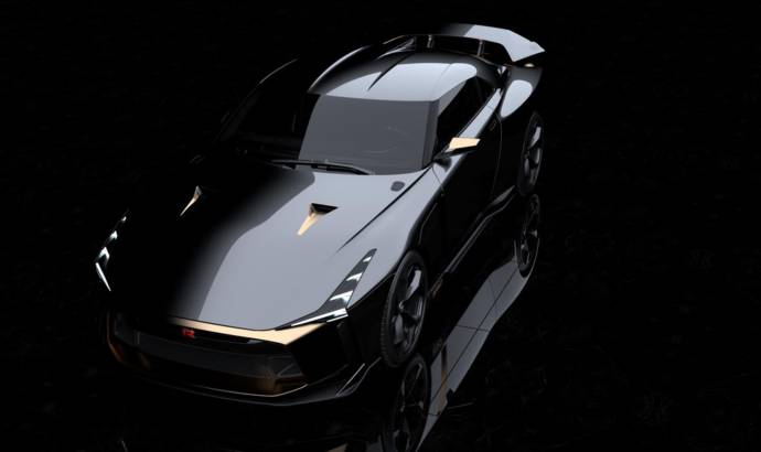 Nissan GT-R50 by Italdesign revealed