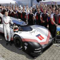 Porsche set the worlds fastest time on Nurburgring