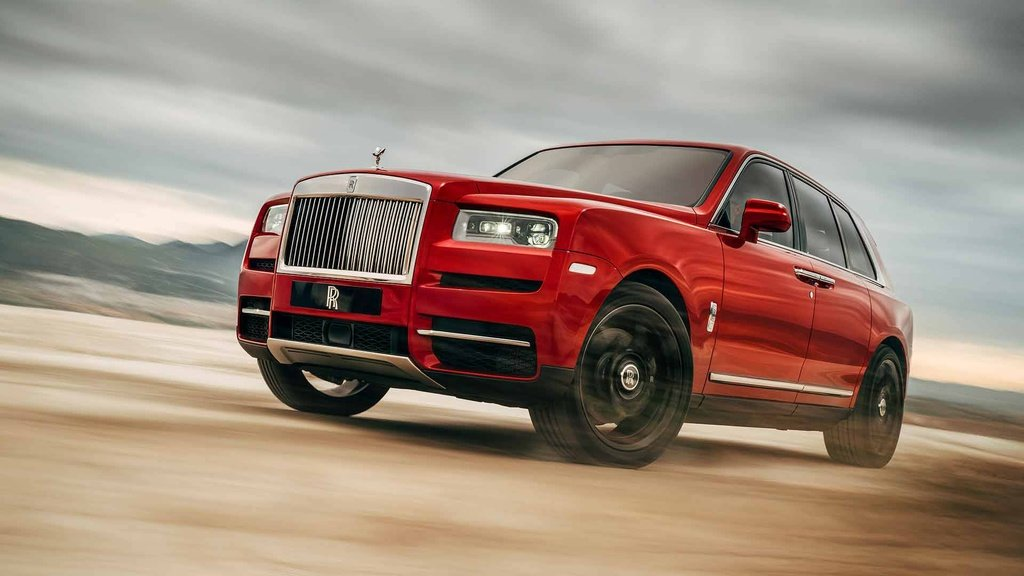 Rolls-Royce Cullinan is back in Manchester