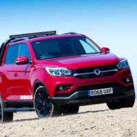 Ssangyong Musso arrives on the UK market