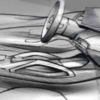 These are the first design sketches with the new Mercedes-Benz GLE