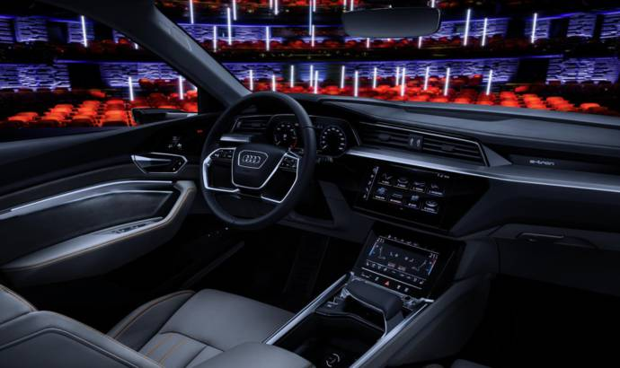 Audi e-tron prototype reveals interior