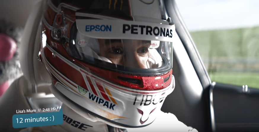 AMG launches a special promo video with Lewis Hamilton and some furry friends