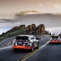 Audi E-Tron prototype recuperation capacity is unique