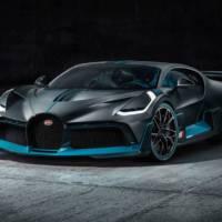 Bugatti Divo is true track car
