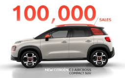 Citroen C3 Aircross reaches 100.000 sales