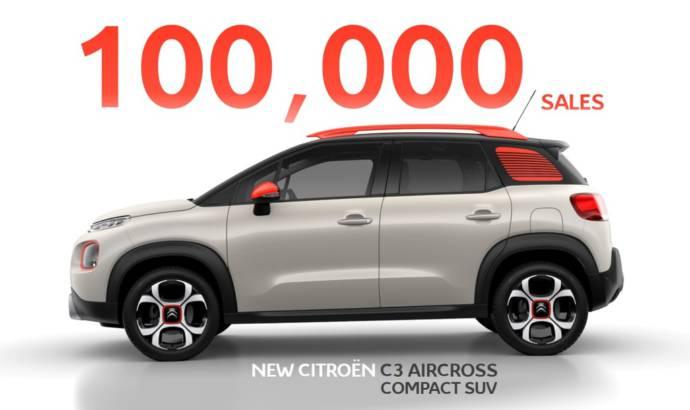 Citroen C3 Aircross reaches 100.000 sales