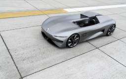 Infiniti Prototype 10 revealed at Pebble Beach Concours dElegance