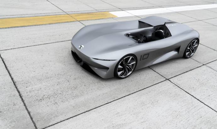 Infiniti Prototype 10 revealed at Pebble Beach Concours dElegance