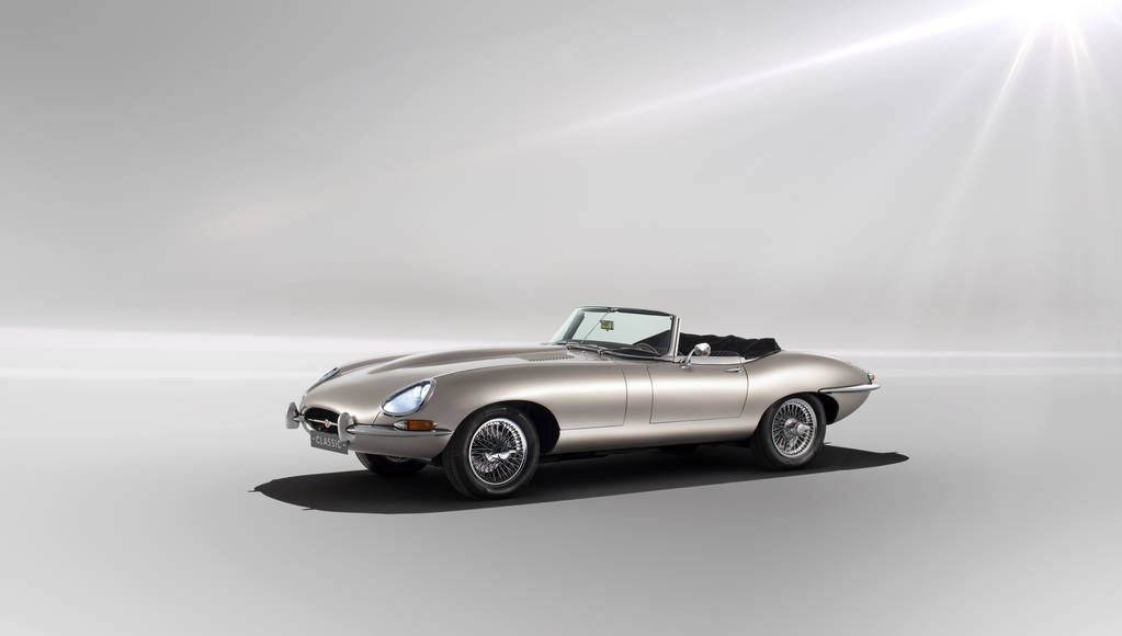 Jaguar E-Type will be revived as an electric model