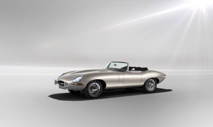 Jaguar will build electric versions of the old E-Type