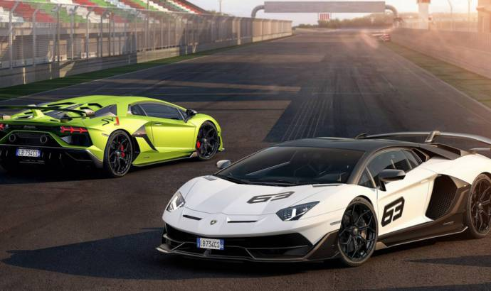 Lamborghini Aventador SVJ has 770 HP and is the king of the Nurburgring